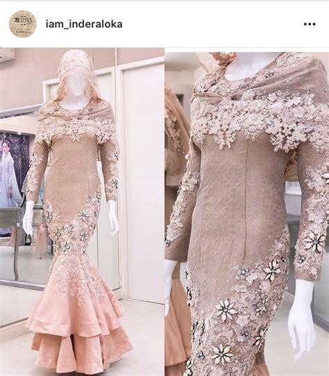 set songket dress  inderaloka fesyen wanita pakaian