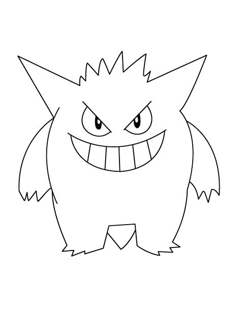 After High Kleurplaat Hanter En Eswing by Gengar Coloring Pages