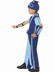 Child Age 4-6 Years Sportacus Fancy Dress Lazy Town Fun ...