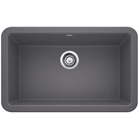 kitchen composite sinks blanco ikon apron front granite composite 29 in single 3402