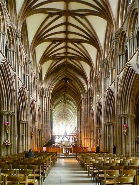 lichfield cathedral interior  fittings