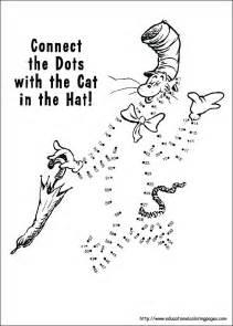 Dr. Seuss Printable Coloring Page