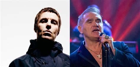 liam gallagher wished morrissey a quot miserable quot