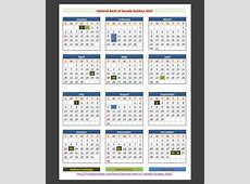 Royal Bank of Canada Holidays 2014 – Holidays Tracker