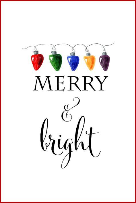 Free Christmas Printable Signs Roundup