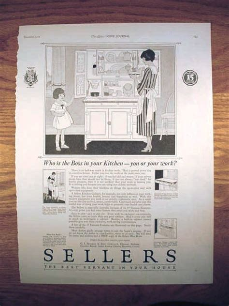 sellers hoosier cabinet parts original advertisements for