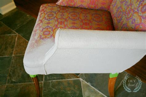 painted upholstered chair tutorialdiy show diy