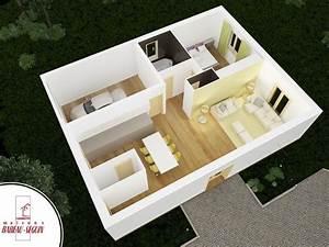 Plan De Petite Maison Avec 1 Chambre Chez Babeau Seguin