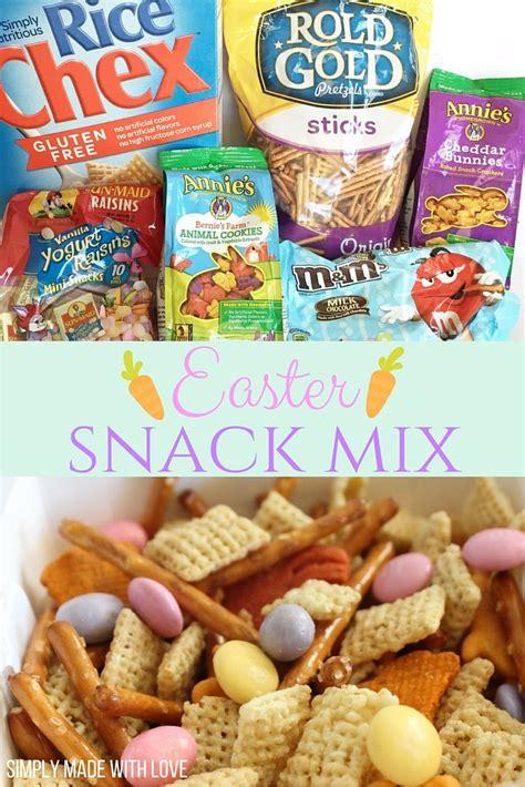 easter snacks ideas  pinterest cute easter