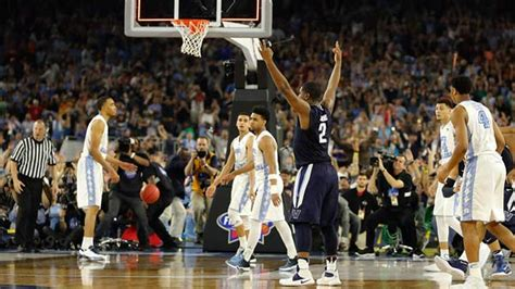 villanova wildcats recreate chionship buzzer beater