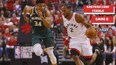 Toronto Raptors Vs Milwaukee Bucks Game 6 Full Highlights ...