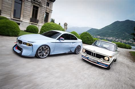 Bmw 2002 Hommage Concept Meets The Bmw 2002 Turbo