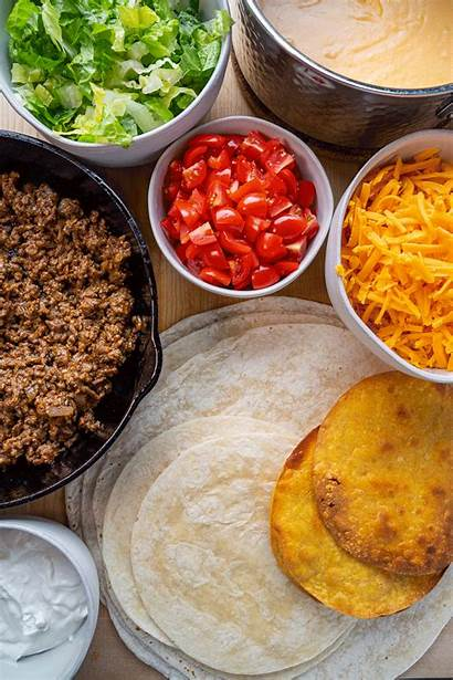 Crunch Wrap Supreme Cooking Beef Sauce Closet