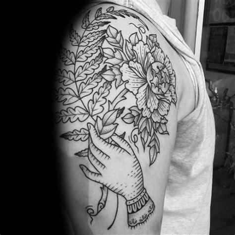 fern tattoo designs  men leaf ink ideas