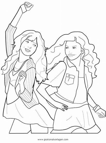 Coloring Pages Liv Maddie Victorious Shake Undercover