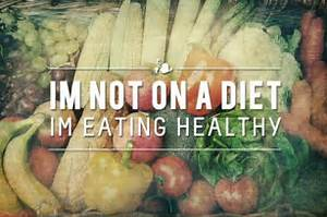 ... are just eating healthy! It's a new way of life =D STAY POSITIVE GUYS Eating for Life