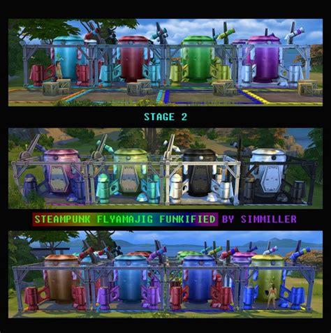 mod  sims steampunk flyamajig funkified  simmiller