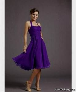 short purple bridesmaid dresses 2016 2017 b2b fashion With short purple wedding dresses