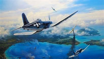 Corsair F4u Vought Nicolas Trudgian War Fighter