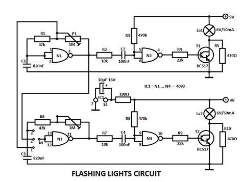 light flashers circuits