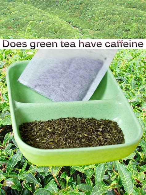 does green tea caffeine in it how caffeine in green tea can help you predict the future healthglimmer