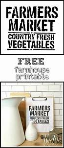 farmhouse printable friday twelve on main With farmhouse letter stencils