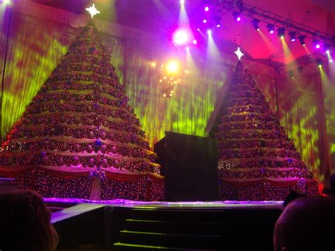 the singing christmas trees 2015 at first baptist church