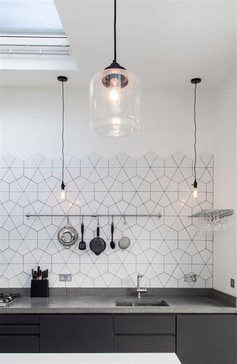 kitchen copper backsplash 25 stylish hexagon tiles for kitchen walls and