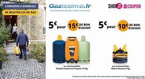 Bouteille De Gaz Carrefour : bon d achat gazissimo livraison de bouteilles de gaz 5 ~ Dailycaller-alerts.com Idées de Décoration