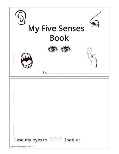 senses workbook by lizzie30590 teaching resources