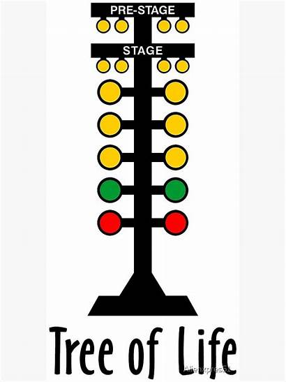 Drag Racing Tree Poster Redbubble