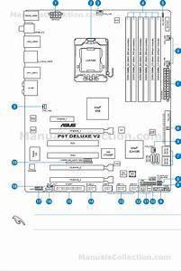 Asus P6t Motherboard Diagram