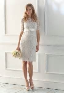 robe de mariã e simple dentelle lace wedding dress with sleeves vintage inspired di candia fashion