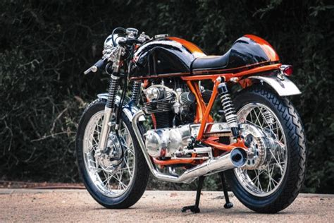 cb350 caf 233 racer by lior baruch bikebrewers
