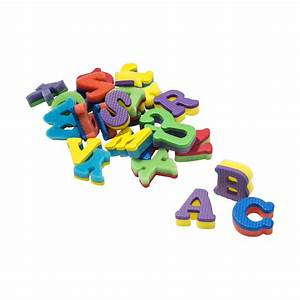 alphabet foam stamps pack of 26 kmartnz With small foam alphabet letters
