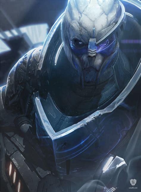 Artwork Garrus Archangel Mass Effect Bioware