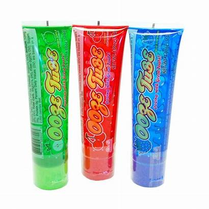 Ooze Candy Tube Gel Tubes Novelty Clear