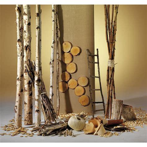 Birken Deko Holz deko dekoidee birkenholz dekoration bei dekowoerner