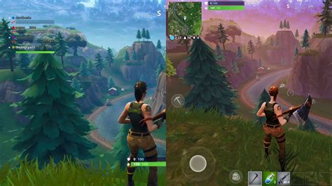 fortnite graphics comparison ps  ipad pro youtube