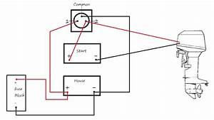 Battery selector switch wiring diagram wiring diagram for Boat battery switch wiring diagram