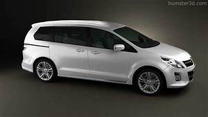 Mazda Mpv 2010 By 3d Model Store Humster3d Com