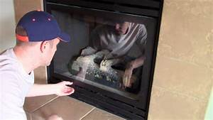 How Open  U0026 Remove To Clean The Glass Cover On A Gas