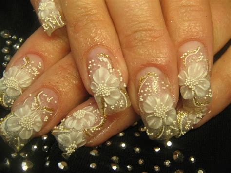 30 Beautiful Wedding Nail Art Designs 2015