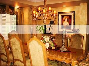 formal dining table decor photograph formal dining room de With formal dining room table decorating ideas