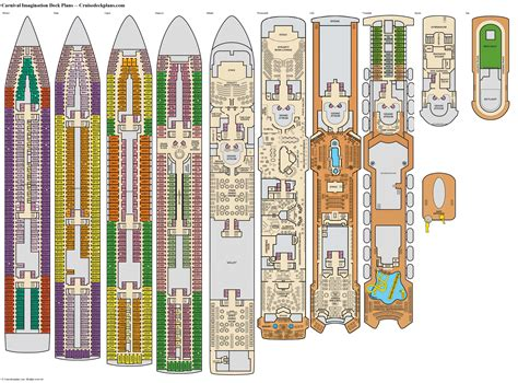 carnival imagination deck plans cabin diagrams pictures