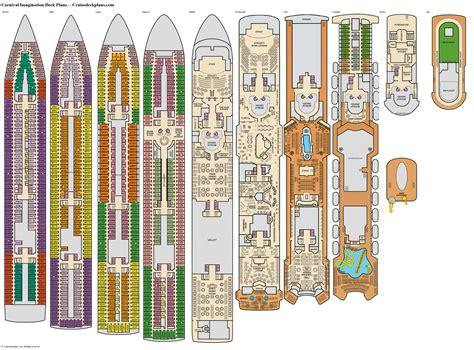 Carnival Imagination Deck Plans