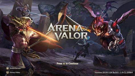 arena  valor update version