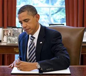 Obama Issues Executive Order Giving Executive Branch (Him ...