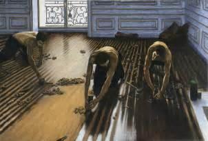 Floor Scrapers by Pin Les Raboteurs De Parquet Gustave Caillebotte 60p On
