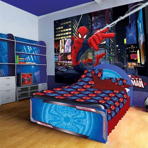 astounding superhero themed kids room designs